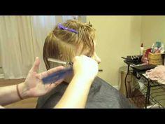 "Short Layered Haircut, Pixie-cut ""Hair Tutorial"" Razored and Textured"