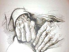 Guttuso, le mani di Moravia