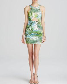 Lucy Paris Dress - Bloomingdale's Exclusive Tropical Print Cutout | Bloomingdales's