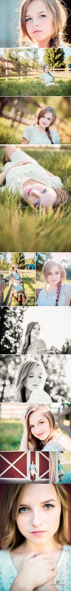Portrait Photography Inspiration Picture Description Country Senior Photo Sеssion with Inna Senior Girl Poses, Girl Senior Pictures, Senior Photos, Senior Posing, Senior Session, Senior Portraits, Teen Fotografie, Fotografie Portraits, Photo Portrait