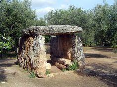 A Dolmen http://www.ostunithewhitecity.com/apulia/prehistory.php