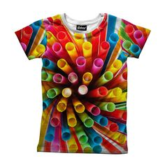 Straws Kid's Tee from Beloved Shirts