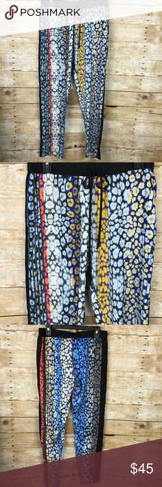 Clover Canyon • Printed Drawstring Pants Medium Size medium Clover Canyon Pants