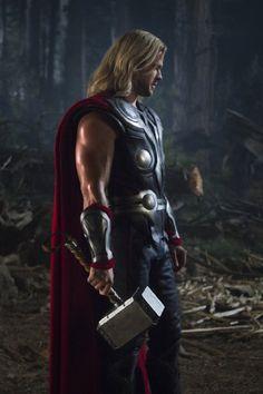 Chris Hemsworth in Avengers Assemble (2012)