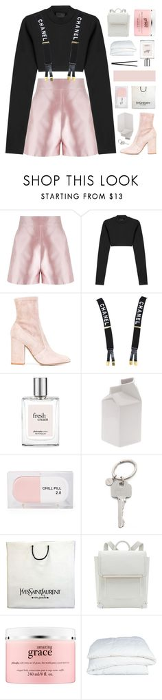 """THANK YOU FOR 9K! ♡"" by sabad ❤ liked on Polyvore featuring Martha Medeiros, Puma, Valentino, Chanel, philosophy, Seletti, Sarah's Bag, Paul Smith, Yves Saint Laurent and Crate and Barrel"