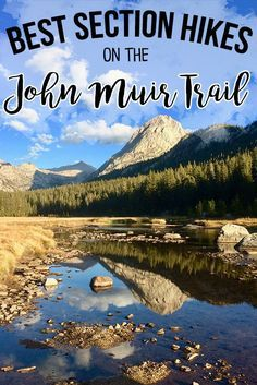The best section hikes on the John Muir Trail that require less than a week to complete. Our detailed guide helps you plan permits, transportation and more! hiking hiking tips for beginners, camping tricks and tips Backpacking For Beginners, Backpacking Trails, Hiking Trails, Camping Tricks, Camping Guide, Thru Hiking, Camping And Hiking, Winter Camping, Thailand