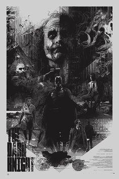 Illustration: The Dark Knight Trilogy by Krzysztof Domaradzki