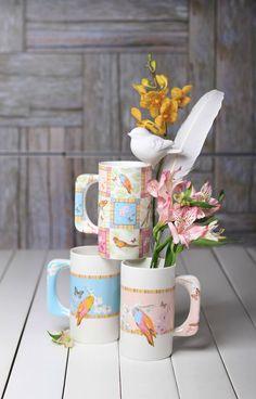 Exotique XXL mugs in porcelain