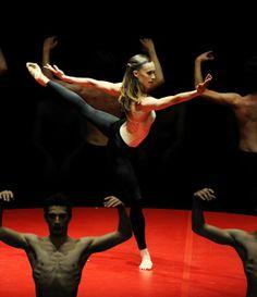 """Anna Osadcenko, """"Boléro"""", Stuttgarter Ballett, Stuutgart, Germany"""
