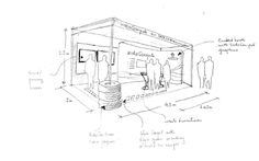 booth sketch - Google 検索