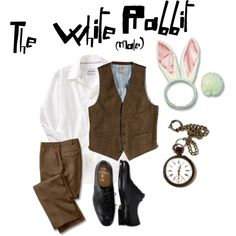 [: The male costume of The White rabbit for Alice in Wonderland. i'm going to make a female version soon. (scheduled via http://www.tailwindapp.com?utm_source=pinterest&utm_medium=twpin&utm_content=post90151119&utm_campaign=scheduler_attribution)