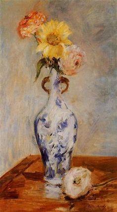 The Blue Vase - Berthe Morisot