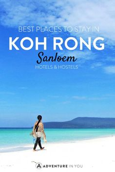 Where to stay in Koh Rong Samloem is a question most.Finding the best place to stay in Koh Rong Samloem is not easy. Cambodia Itinerary, Cambodia Beaches, Cambodia Travel, Thailand Travel, Angkor Wat, Siem Reap, Travel Guides, Travel Tips, Travel Destinations