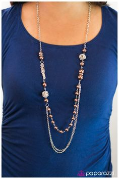 Only $5!! Comes with FREE matching earrings!! Check it out at www.paparazziaccessories.com/33592