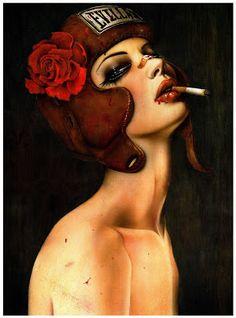 O Tapete Vermelho da Imagem: Images' Red Carpet: As meninas más de Brian Viveros/Brian Viveros' Bad...