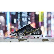 check out 09f35 b9b8a Billig 2018 Nike Mercurial Vapor XI FG BHM Svart Fotbollsskor Outlet