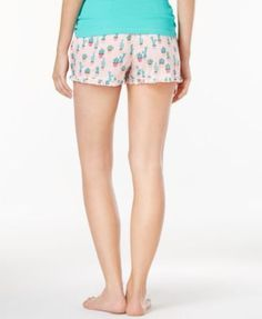Jenni by Jennifer Moore Printed Boxer Pajama Shorts, Only at Macy's - Pink L