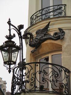 Rue de Dragon, St. Germaine de Pres,Paris