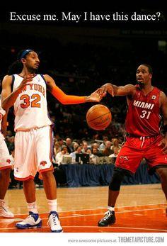 funny basketball players dancing NBA