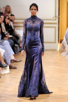 Zuhair Murad Haute Couture Fall 2013                  Image Source: Getty / Kristy Sparow