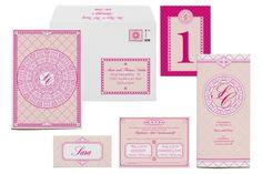 Hochzeitskarten mit filigranen Ornamenten | Design: Paper & Soul