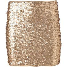 Vero Moda Shine Short Skirt Pp Wall ($37) ❤ liked on Polyvore