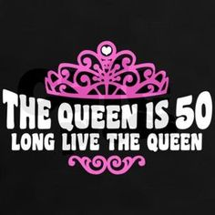 the queen is 50