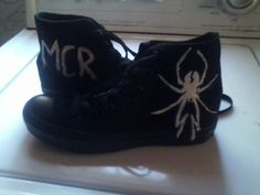 I so want these! My Chemical Romance shoes!