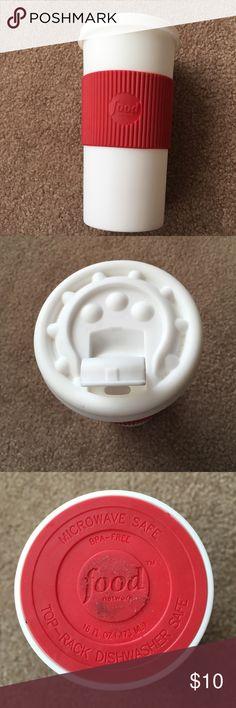 Food network 16 oz travel mug Microwave and dishwasher safe food network Other