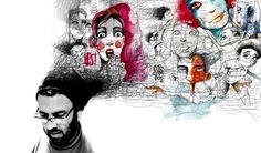 Sketch Café, el mundo de Pito Campos