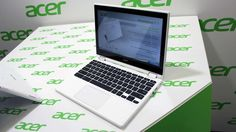 With a 360-degree hinge, you can flip the display on Acer's Chromebook R11 all the way around to the back of the keyboard, just like numerous Windows convertibles including the Lenovo Yoga range. Gizmag took a look at the machine at IFA 2015 in Berlin.