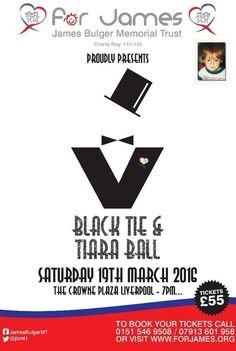 For James Charity Black Tie & Tiara Ball – Crown Plaza Liverpool 19th March 2016 – Jade Ainsworth Gossip