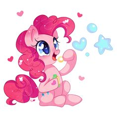 Pinkie Bubbles by Ipun.deviantart.com on @DeviantArt