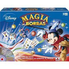 Chollo en Amazon España: Juego de magia Educa Borrás Mickey con Dvd por solo 15,01€ (un 32% de descuento sobre el PVR y precio mínimo histórico)