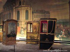 18th Century sedan chairs from Versailles.