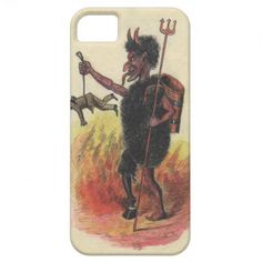 Krampus Punishing Adult iPhone 5 Cover