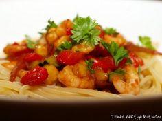 Rekewok med ingefær, chili og hvitløk - TRINEs MATBLOGG