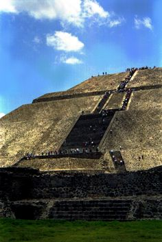 Site of Teotihuacan at Tenochtitlan (Mexico)