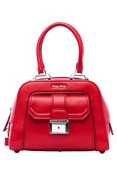 5f78d4fb05a1 Miu Miu Red Handbag- Accessories - 2015 Spring-Summer Miu Miu Shoes