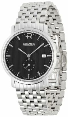 Roamer Odeon Men's Quartz Watch with Black Dial Analogue Display and Silver Stainless Steel Bracelet 931853 41 55 90 has been published to http://www.discounted-quality-watches.com/2013/06/roamer-odeon-mens-quartz-watch-with-black-dial-analogue-display-and-silver-stainless-steel-bracelet-931853-41-55-90/