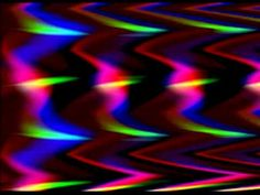 Triple Bandpass Filter Video Color Textures
