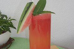 Wassermelonen - Getränk 1