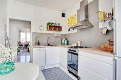 Coqueto apartamento de 43m2 en Suecia | Decorar tu casa es facilisimo.com
