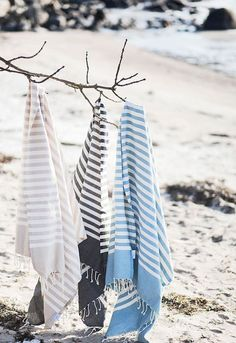 April and May: Win a fouta by House of Rym Beach Bag Essentials, Cap Ferret, House By The Sea, Turkish Towels, Turkish Bath, Textiles, Beachwear For Women, Beach Cottages, Coastal Style