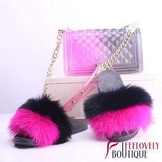 Black Ugg Slippers, Fluffy Shoes, Cute Slides, Cute Handbags, Louis Vuitton Shoes, Cute Bags, Luxury Bags, Fashion Handbags, Birthday Countdown