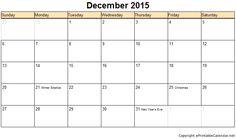 December 2019 Calendar: Free Printable December 2019 Calendar Printable Template With Holidays, December 2019 Desk and Wall Calendar Make A Calendar, December Calendar, Holiday Calendar, Blank Calendar, 2019 Calendar, Desk Calendars, Excel Calendar Template, Free Printable Calendar, Free Printables