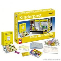 Kinderpost / Post for children in many different ways. The kids feel like in a real post. Post Office, Childhood Memories, Children, Kids, Lego, Baby, Games, Shopping, Future