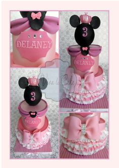 Princess Minnie Mouse — Children's Birthday Cakes