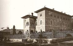 Palacio Xifré a finales del s. XIX. En su solar se construyó el actual ministerio de Sanidad. Foto Madrid, Big Ben, Notre Dame, Taj Mahal, Spain, Louvre, Villa, History, World