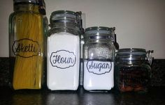 Personal Kitchen Canisters